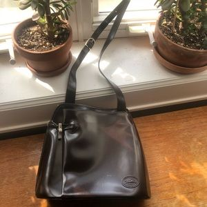 Vintage Longchamp Roseau Leather Bag